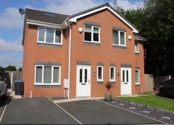 Thumbnail 3 bed semi-detached house for sale in Johnstone Close, Oldham