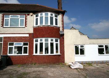 Thumbnail 2 bedroom flat to rent in Blackburn Avenue, Tettenhall, Wolverhampton