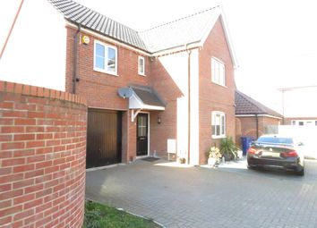Thumbnail 4 bed detached house to rent in Dairy Drive, Beck Row, Bury St. Edmunds