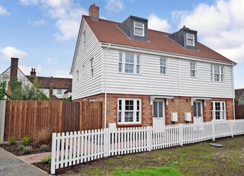 Thumbnail 3 bed semi-detached house for sale in Sovereigns Way, Marden, Kent