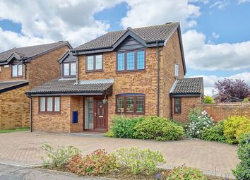 Thumbnail 4 bedroom detached house for sale in Burwell Road, Eaton Ford, St. Neots