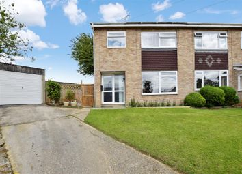 Thumbnail 3 bed semi-detached house for sale in Crossways, Colne Engaine, Colchester