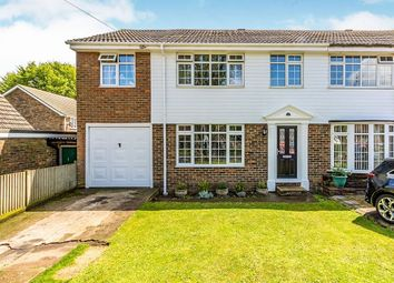 Thumbnail 4 bed semi-detached house for sale in Bayswater Drive, Rainham, Gillingham
