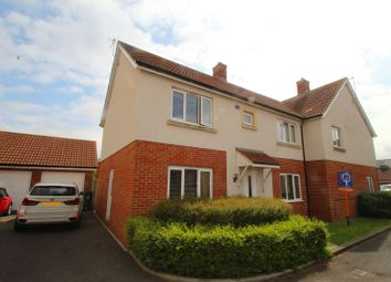 Thumbnail 4 bedroom semi-detached house for sale in Fennel Road, Portishead, Bristol