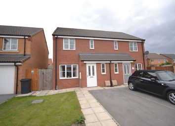 Thumbnail 3 bed semi-detached house for sale in Spruce Way, Selby