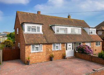 Thumbnail 3 bed semi-detached house for sale in Walmer Road, Seaford