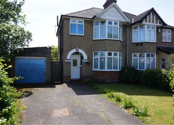 Thumbnail 3 bed semi-detached house for sale in Colchester Road, Ipswich