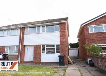 Thumbnail 3 bed semi-detached house for sale in Braemar Drive, Leicester