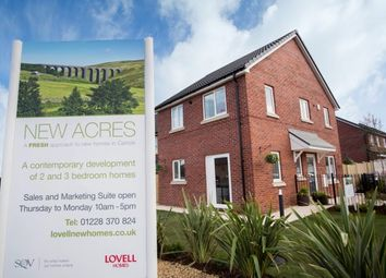 Thumbnail 2 bed mews house for sale in Latrigg Road, Carlisle, Cumbria