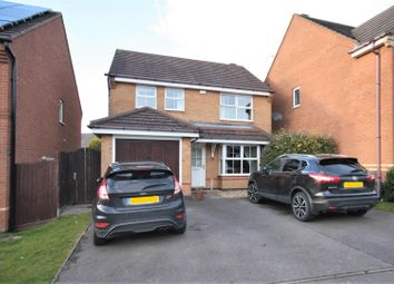 Thumbnail 3 bed detached house for sale in Francis Way, Ellistown, Coalville