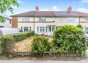 Thumbnail 3 bed terraced house for sale in Shirley Road, Acocks Green, Birmingham, West Midlands