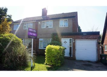 Thumbnail 3 bed semi-detached house for sale in Sunningdale Drive, Alwoodley