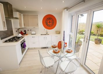 "Thumbnail 3 bed semi-detached house for sale in ""Sandon"" at Dunnock Lane, Cottam, Preston"