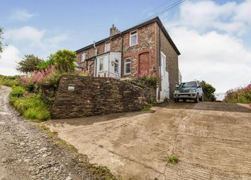 Thumbnail 3 bed semi-detached house for sale in Trethevy, Tintagel, Cornwall