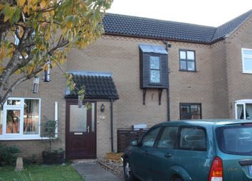 Thumbnail 2 bed terraced house for sale in St. Matthews Close, Skegness