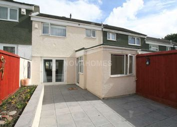 Thumbnail 3 bed terraced house for sale in Kipling Gardens, Crownhill