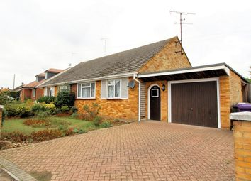 Thumbnail 2 bed semi-detached bungalow for sale in Oakfield Avenue, Hitchin, Hertfordshire