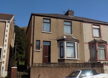 Thumbnail 3 bed semi-detached house to rent in Caradog Street, Taibach, Port Talbot