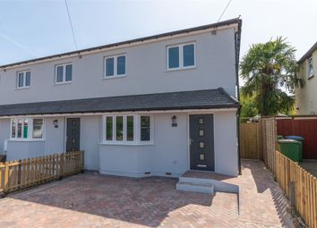 Thumbnail 3 bed end terrace house for sale in Second Avenue, Walton-On-Thames, Surrey