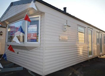 Thumbnail 2 bed mobile/park home for sale in Alberta Holiday Park, Faversham Road, Whitstable