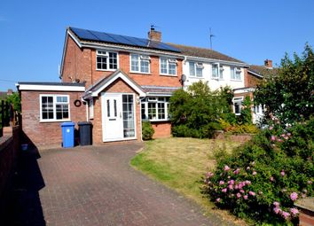 Thumbnail 3 bedroom semi-detached house for sale in Ash Grove, Great Cornard, Sudbury