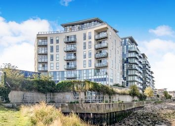 Thumbnail 1 bed flat for sale in Oarsman House, Ingress Park, Greenhithe, Kent