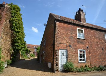 Thumbnail 2 bed cottage for sale in Hall Road, Snettisham, King's Lynn