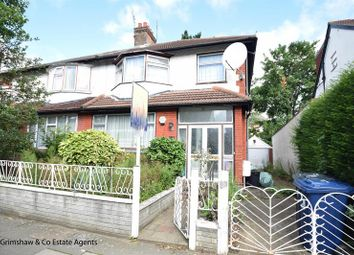Thumbnail 3 bed end terrace house for sale in Gunnersbury Crescent, Acton, London