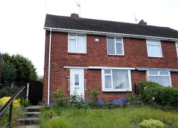 Thumbnail 2 bed semi-detached house for sale in Netherton Road, Worksop, Nottinghamshire