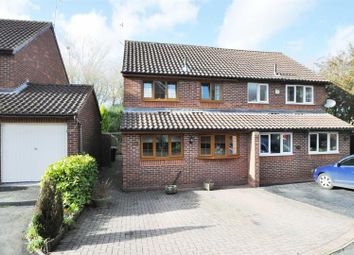 Thumbnail 3 bed semi-detached house for sale in Coppice Close, Droitwich