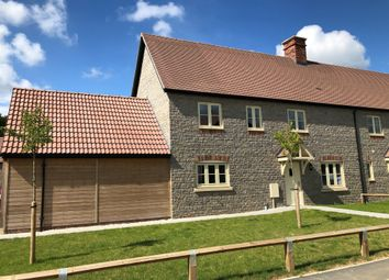 Thumbnail 4 bedroom semi-detached house for sale in Long Hazel Farm, Sparkford, Yeovil