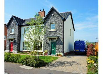 Thumbnail 3 bedroom semi-detached house for sale in Coopers Mill Avenue, Dundonald