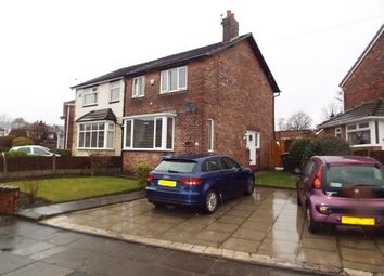 Thumbnail 3 bed semi-detached house for sale in St. Georges Crescent, Worsley, Manchester, Greater Manchester