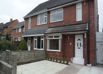 Thumbnail 3 bed semi-detached house to rent in Yew Tree Avenue, Blurton, Stoke-On-Trent