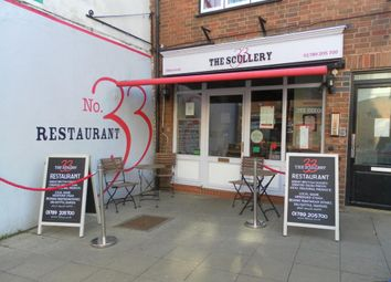 Thumbnail Restaurant/cafe for sale in Greenhill Street, Stratford-Upon-Avon