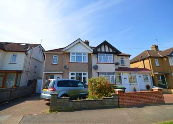 Thumbnail 3 bed semi-detached house to rent in Cranborne Avenue, Surbiton