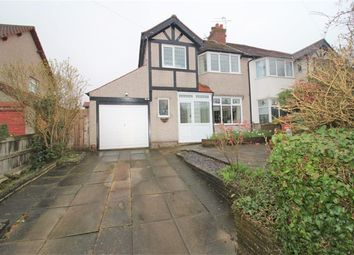 Thumbnail 3 bed semi-detached house for sale in Hillfield Drive, Heswall, Wirral