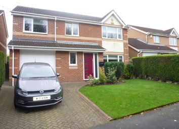 Thumbnail 4 bed detached house for sale in Fox Lea Walk, Seghill, Northumberland