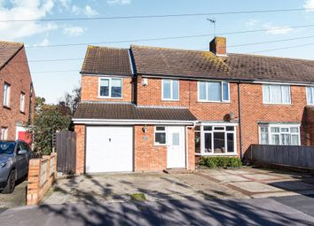 Thumbnail 4 bedroom semi-detached house for sale in Blackthorn Drive, Hayling Island