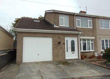 Thumbnail 4 bed semi-detached house for sale in Dythel Park, Pen-Y-Mynydd, Llanelli, Carmarthenshire.