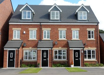 "Thumbnail 3 bed terraced house for sale in ""The Souter"" at Old Water Lane, Mansfield"