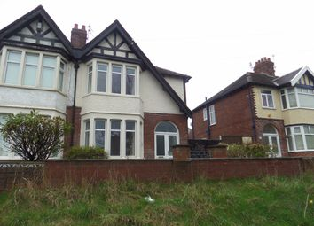 Thumbnail 3 bed semi-detached house to rent in Devonshire Road, Bispham