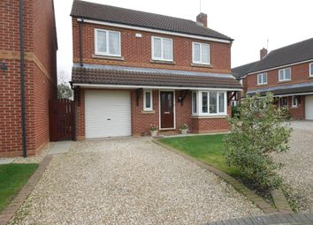 Thumbnail 4 bed detached house for sale in Hazel Crescent, Gilberdyke, Brough