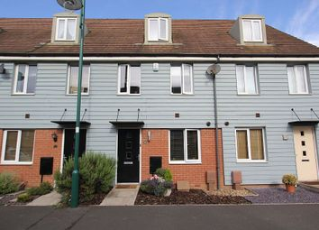 Thumbnail 3 bedroom town house for sale in Farrow Avenue, Hampton Vale, Peterborough, Cambridgeshire