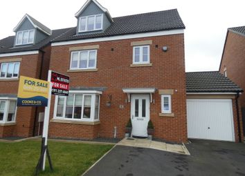 Thumbnail 4 bed detached house for sale in Akenshaw Drive, Seaton Delaval, Tyne & Wear