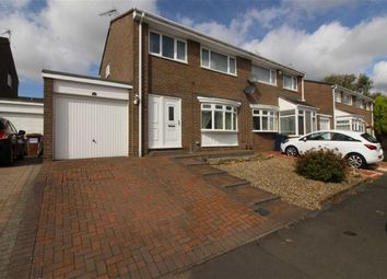 Thumbnail 3 bed semi-detached house for sale in Mitford Close, Oxclose, Washington