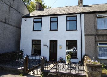 Thumbnail 3 bed end terrace house for sale in Cwm-Y-Glo, Caernarfon