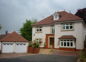 Thumbnail 5 bed detached house to rent in Glasllwch Lane, Newport