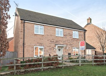 Thumbnail 4 bed detached house for sale in Juniper Way, Witham St Hughs