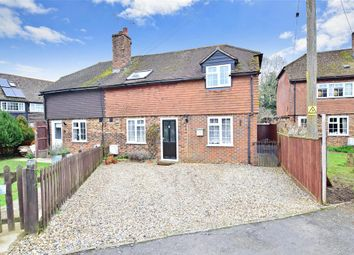 Thumbnail 3 bed semi-detached house for sale in Chulkhurst, Biddenden, Ashford, Kent